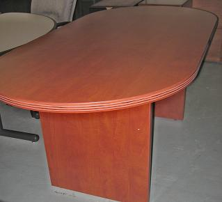 Cherryman 8 39 X4 39 Cherry Laminate Conference Table Used