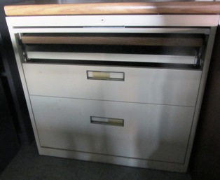 2 dr lateral with flip storage top drawer 3-31-14