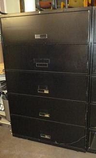 STEELCASE 5-DRAWER LAT WEB