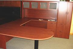 executive desks and credenzas