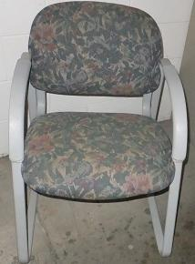 These have been in our showroom too, too long. . you can get these nice, colorful chairs for $20 each four available.