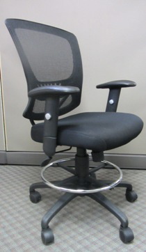 intermediate height desk chair