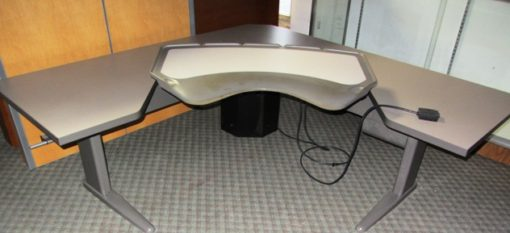 Corner Sit To Stand Table Liquidation 35 Office Works