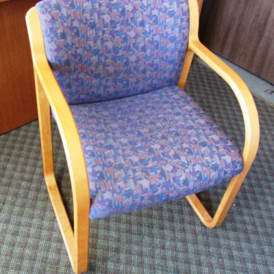 steelcase rec. seating w arms